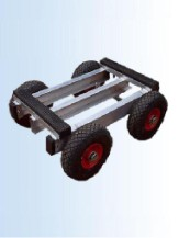 SW Piano Movers use pneumatic tyred piano trollies to covers uneven terrain and protect floors.