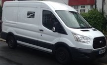 Image transit van operated by SW Removals